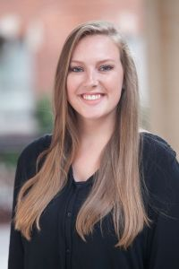 Cassidy Colson with NC State University PRSSA