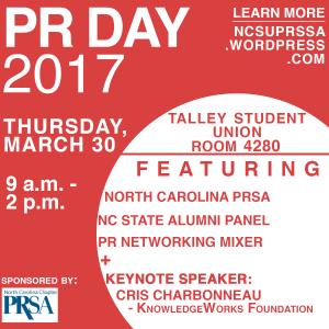 NC State University PR Day 2017
